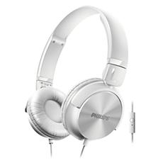 SHL3065WT/00 -    Hörlurar med mikrofon