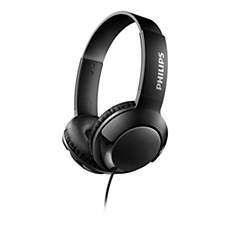 SHL3070BK/00 BASS+ On ear headphones