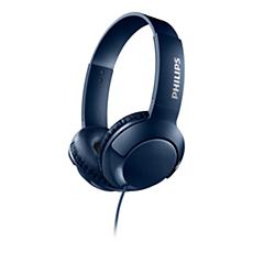 SHL3070BL/00 -   BASS+ On ear headphones