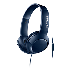 SHL3075BL/00 BASS+ Headphones with mic