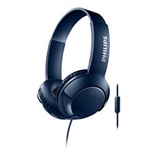 SHL3075BL/00 BASS+ Słuchawki z mikrofonem