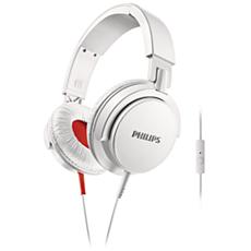 SHL3105WT/10  Sluchátka se sluchátkovým obloukem