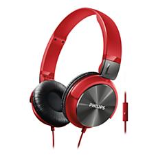 SHL3165RD/00  Mikrofonlu kulaklık