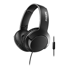 SHL3175BK/00 -   BASS+ Headphones with mic