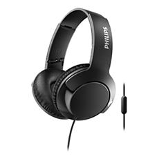 SHL3175BK/00 BASS+ Headphones with mic