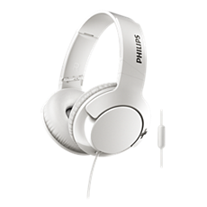 SHL3175WT/00 BASS+ Mikrofonlu kulaklık