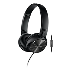 SHL3855NC/00  Støyundertrykkende hodetelefoner med mikrofon