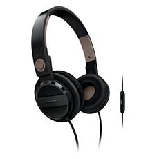 SHL4005/10  Audífonos con banda sujetadora