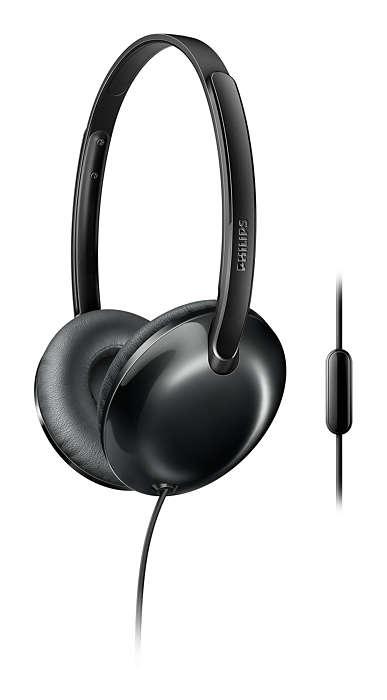Hovedtelefoner, der overvinder tyngdekraften