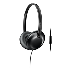 SHL4405BK/00 Flite Headphones with mic