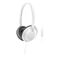 SHL4405WT/00 Flite Headphones with mic