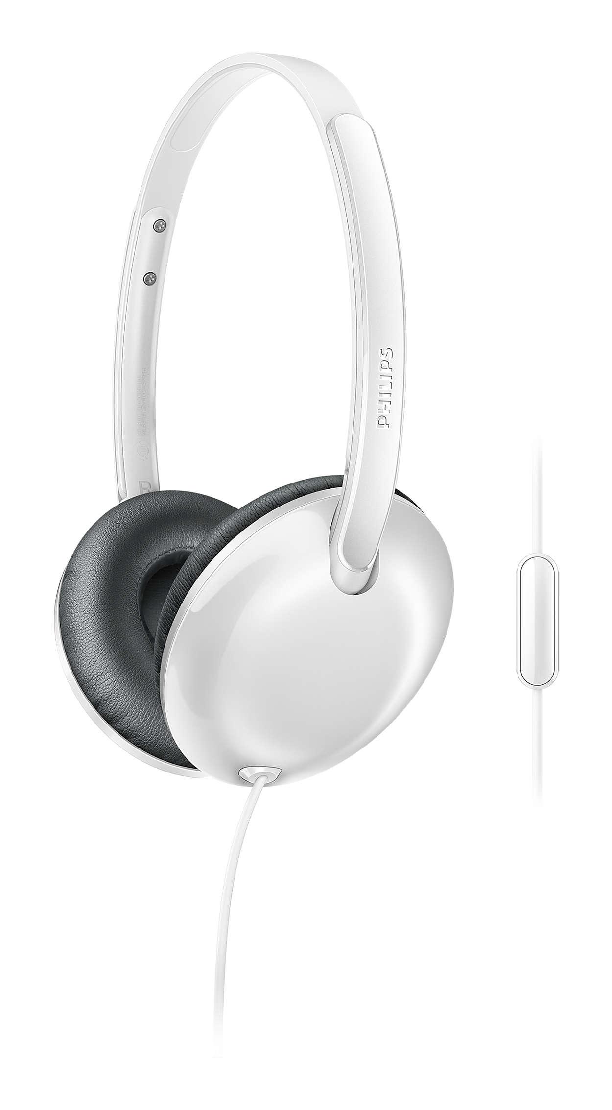 Flite Навушники з мікрофоном SHL4405WT 00  cf2d48b7f4ebb