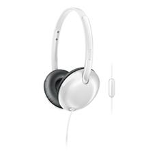 SHL4405WT/27  Headphones with mic