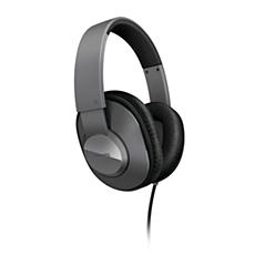 SHL4500GY/00 -    Słuchawki z pałąkiem na głowę