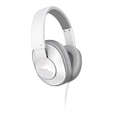 SHL4500WT/00 -    Słuchawki z pałąkiem na głowę