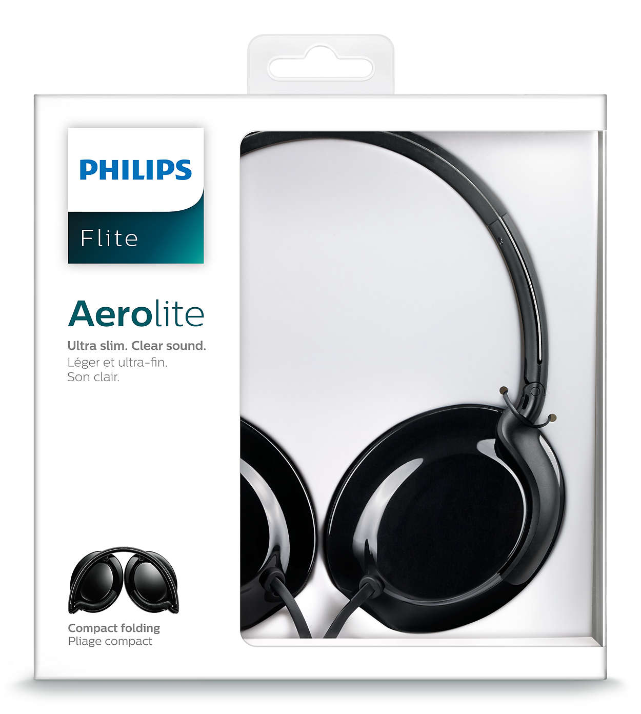Flite Casque Shl4600bk00 Philips