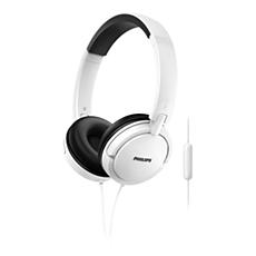 SHL5005WT/00  Kopfhörer mit Mikrofon