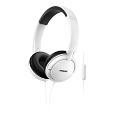 SHL5005WT/00 -    Headphones with mic