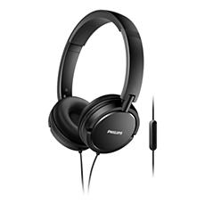 SHL5005/00 -    Sluchátka smikrofonem