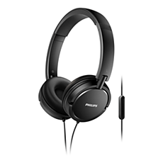 SHL5005/00  Headphones with mic