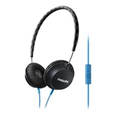 SHL5105BK/00 -    Hörlurar med mikrofon
