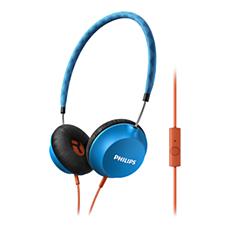 SHL5105BL/00  Hörlurar med mikrofon