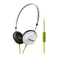 SHL5105WT/00  Headphones with mic