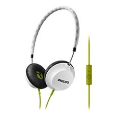 SHL5105WT/00 -    Headphones with mic