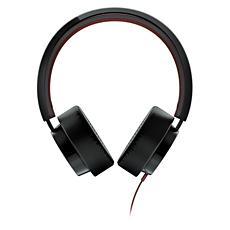 SHL5205BK/98  Headphones with mic