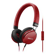 SHL5305RD/00  Headphones with mic