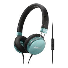 SHL5305TL/00 -    Hörlurar med mikrofon