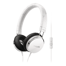 SHL5305WT/00 -    Headphones with mic