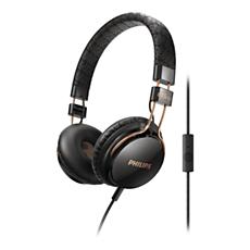 SHL5505BK/00 -    Headphones with mic