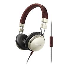 SHL5505YB/00 -    Hodetelefoner med mikrofon