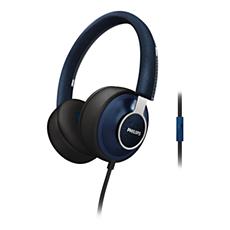 SHL5605BL/10  CitiScape-hodetelefoner med hodebånd