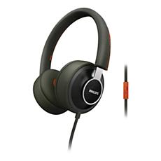 SHL5605GN/10  Oblouková sluchátka CitiScape