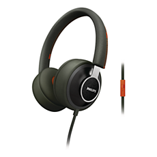 SHL5605GN/28  Audífonos con banda sujetadora CitiScape