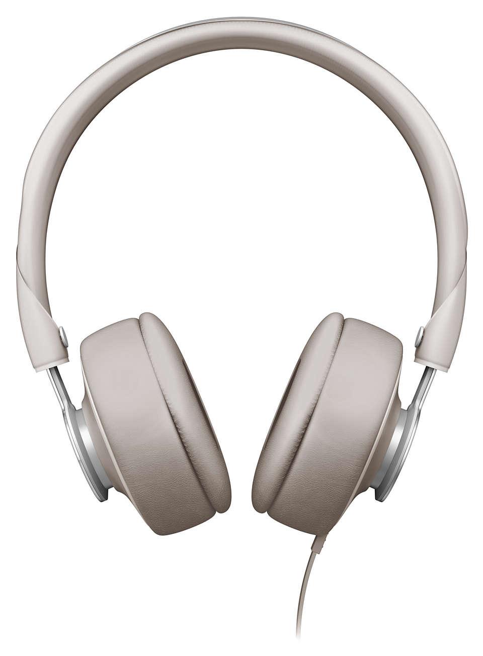 Klar og naturlig omslutning av lyd