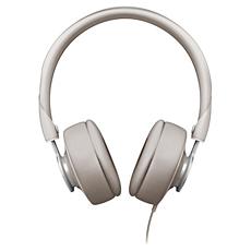 SHL5605GY/10  Hodetelefoner med mikrofon