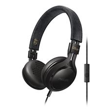 SHL5705BK/00 -    Hörlurar med mikrofon
