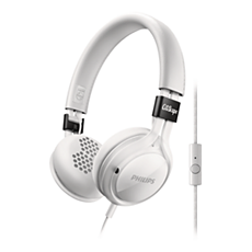SHL5705WT/00  Headphones with mic