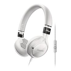 SHL5705WT/00  Hodetelefoner med mikrofon