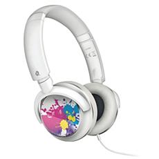 SHL8807/10  Auriculares con banda sujetadora