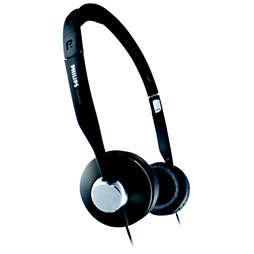 Headband headphones