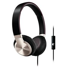 SHL9705A/28  Audífonos con banda sujetadora