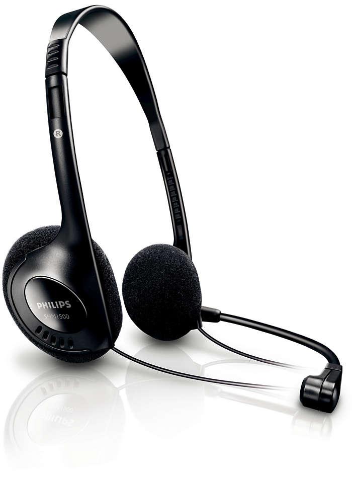 Audífonos estéreo para PC