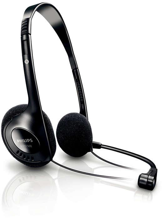 Headset estéreo para PC