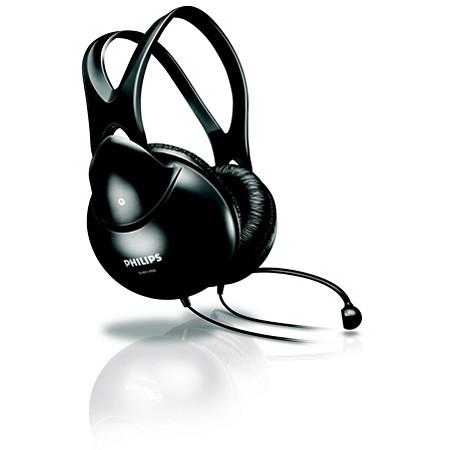 Altavoces y audífonos