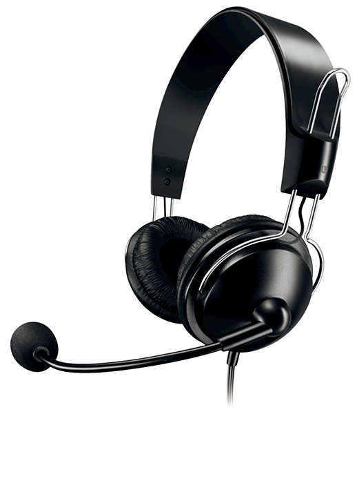 Stereo PC headset
