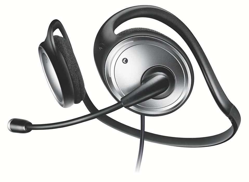 Sztereó számítógépes fejhallgatókészlet